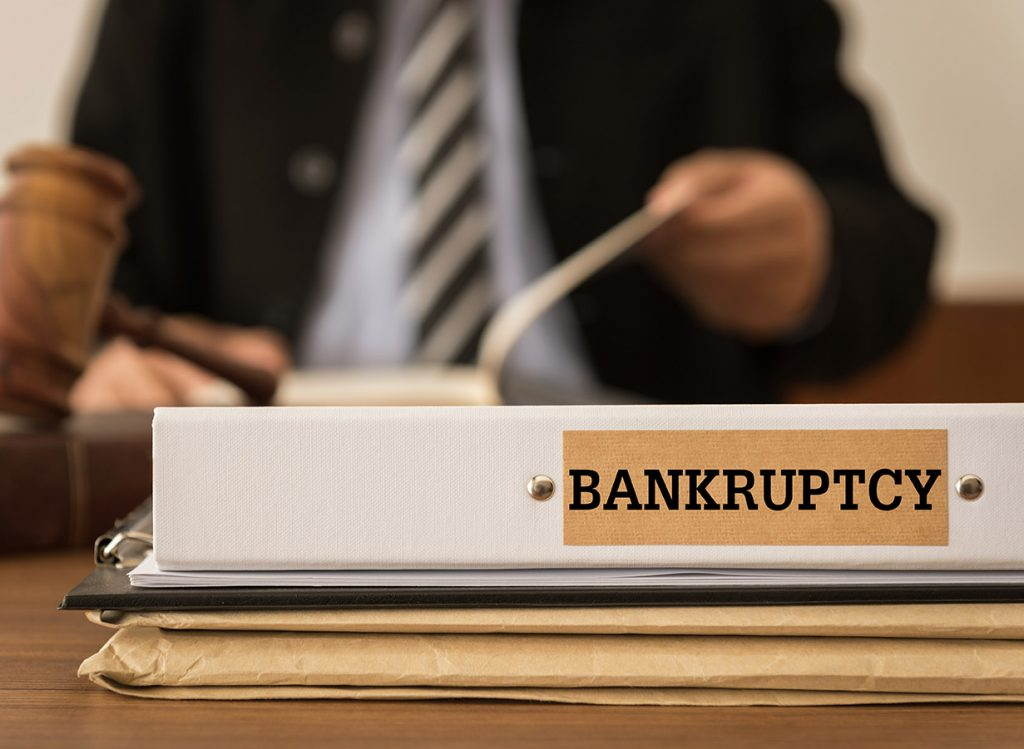 Lawyer Helping With Filing Bankruptcy
