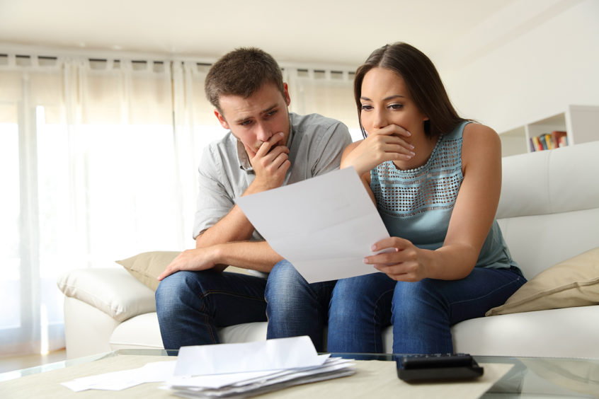 Couple who needs to consider filing bankruptcy
