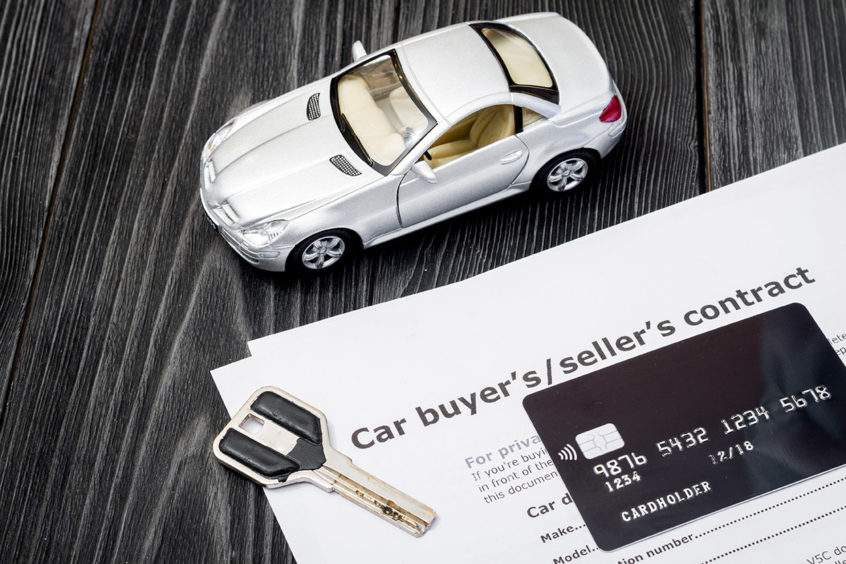 Filing bankruptcy and buying a car