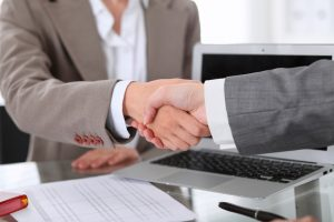 Social security lawyers shaking hands in Willard, MO