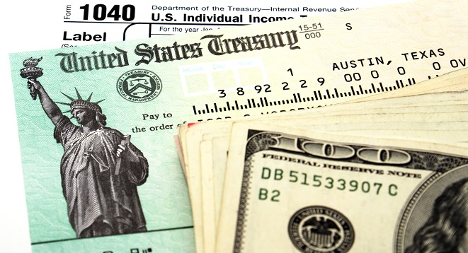 Tax refund attorney fees