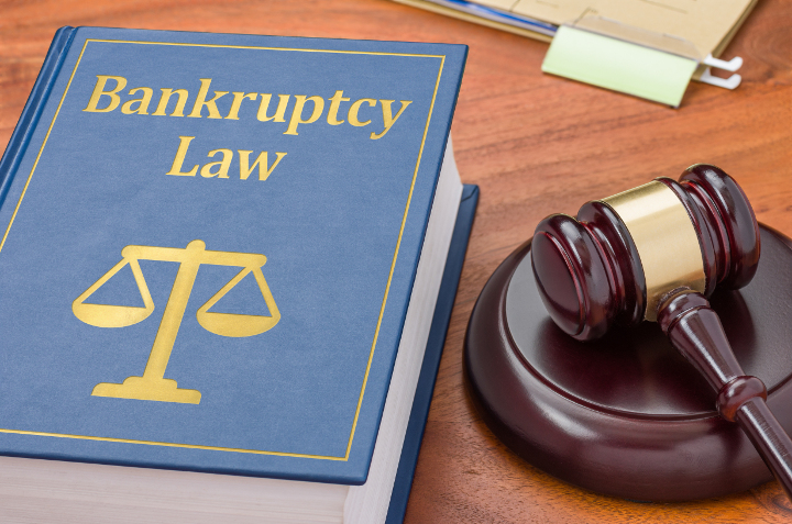 Filing bankruptcy books of terms