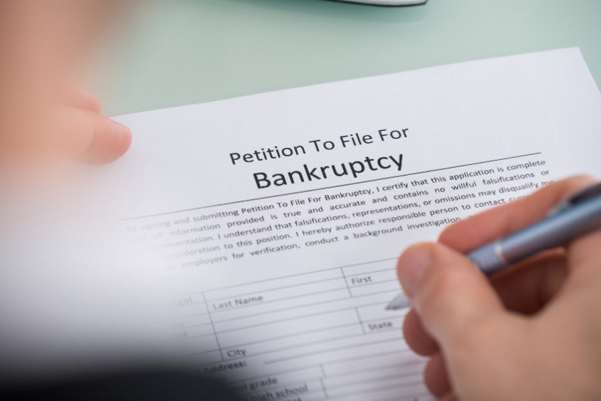 More filing bankruptcy terms